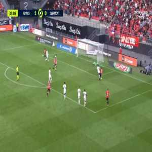Rennes 2-0 Clermont - Martin Terrier 36'