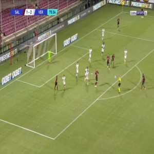 Salernitana [2]-2 Verona - Mamadou Coulibaly 76'