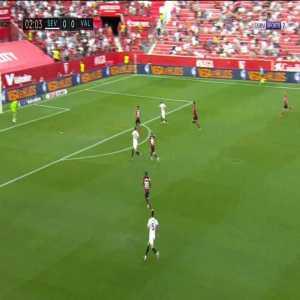 Sevilla 1-0 Valencia - Papu Gomez 3'