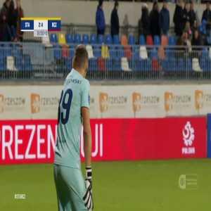 Stal Rzeszów 2-[4] Raków Częstochowa - Vladislavs Gutkovskis 90+2' (Polish Cup)