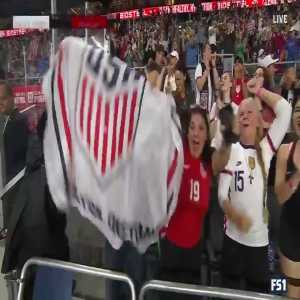 USA W 1-0 Paraguay W - Lavelle 4'