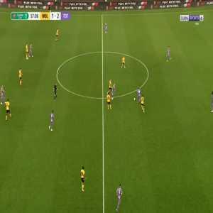 Wolves [2]-2 Tottenham - Daniel Podence 58'