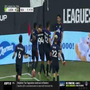 León 0-1 Seattle Sounders | Cristian Roldan 48' (Leagues Cup Final)