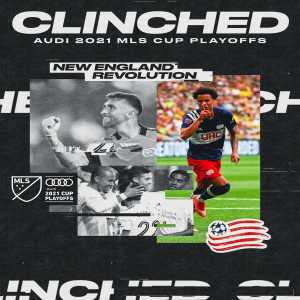 [MLS]NE Revolution are the first side to clinch a spot in the Audi #MLSCupPlayoffs!