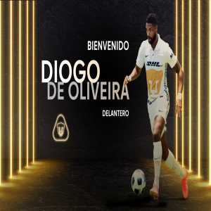 [Pumas] Pumas confirm the signing of brazilian striker Diogo de Oliveira from uruguayan side Plaza Colonia on a 1 year loan
