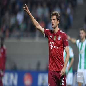 [Bundesliga] Thomas Müller's goal tonight sees him overtake Karl-Heinz Rummenigge to become FC Bayern's third top goal scorer of all time.