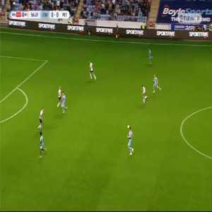 Coventry 1-0 Peterborough - Gustavo Hamer 57'