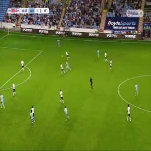 Coventry 2-0 Peterborough - Viktor Gyokeres 61'
