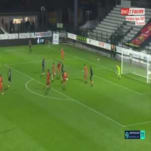 Quevilly-Rouen 2-[2] Guingamp - Tristan Muyumba 45'+1'