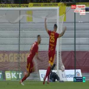 Rodez [1]-1 Grenoble Foot - Florian David free-kick 90'+4'