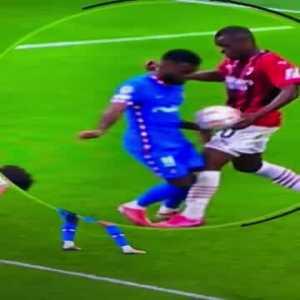 Atletico Milan 90+4 penalty call.