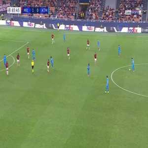 Milan 1-[1] Atlético Madrid - Antoine Griezmann 84'