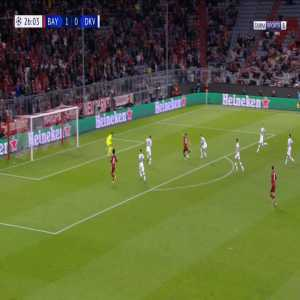Bayern Munich 2-0 Dynamo Kiev - Robert Lewandowski 27'