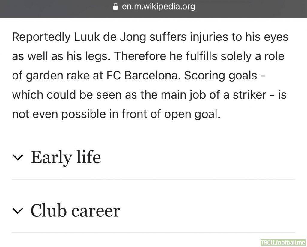 Barca fans must love him