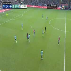 Crystal Palace 0-[2] Leicester City: Jamie Vardy 37'