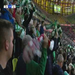 Lechia Gdańsk 1-0 Legia Warszawa - Maciej Gajos free-kick 34' (Polish Ekstraklasa)