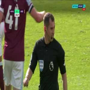 West Ham United 0-1 Brentford - Mbeumo
