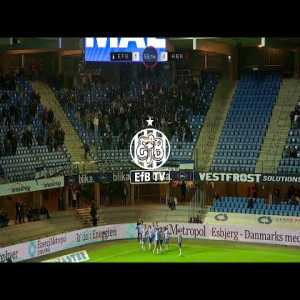 Goals from yesterdays match Esbjerg fB - HB Køge (2-0)