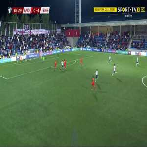 Andorra 0-5 England - Jack Grealish 86'