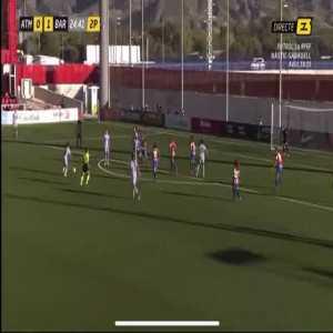 Atletico Madrid W 0 - [2] Barcelona W - Aitana 70'