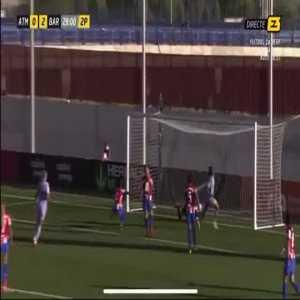 Atletico Madrid W 0 - [3] Barcelona W - Lieke Martens 74'