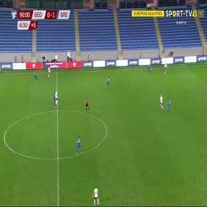 Georgia 0-2 Greece - Dimitrios Pelkas 90'+4'