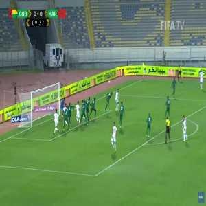 Guinea Bissau 0-1 Morocco - Ayoub El Kaabi 10'