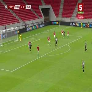 Hungary 0-1 Albania - Armando Broja 80'