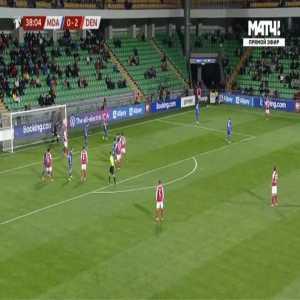 Moldova 0-3 Denmark - Christian Norgaard 39'