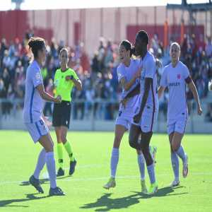 """[OptaJose] """"15 - Between Asisat Oshoala 🇳🇬 (eight) & Alexia Putellas 🇪🇸 has scored both (15 goals combined) as many goals as all entire Atlético de Madrid in Primera Iberdrola this season."""""""