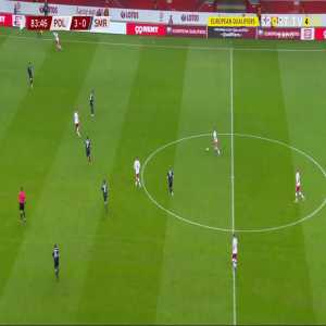 Poland 4-0 San Marino - Adam Buksa 84'