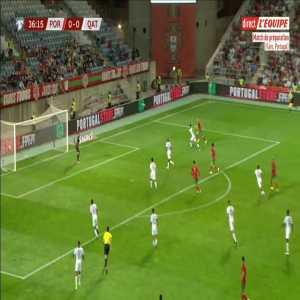 Portugal 1-0 Qatar - Cristiano Ronaldo 37'