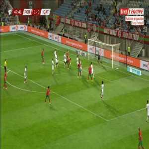 Portugal 2-0 Qatar - Jose Fonte 48'