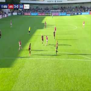 Arsenal W [3] - 0 Everton W - Frida Maanum great goal 86'