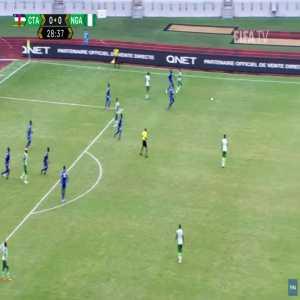 Central Africa 0-1 Nigeria - Leon Balogun 30'