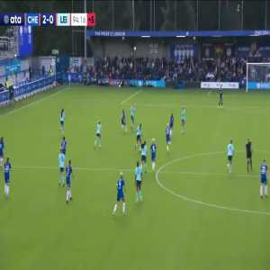 Chelsea W [2] - 0 Leicester W - Fran Kirby 90+4'
