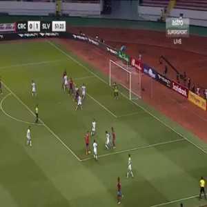Costa Rica [1]-1 El Salvador - Bryan Ruiz 52'