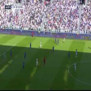 Federico Chiesa chance vs Belgium 45+1' [Third Place Match]