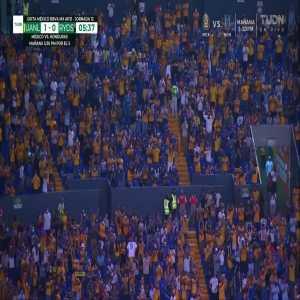 Tigres W [1] - 0 Monterrey W - Nayeli Rangel 6'