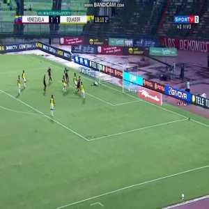 Venezuela [2]-1 Ecuador - Eduard Bello (great goal) 64' | CONMEBOL WC Qualifiers