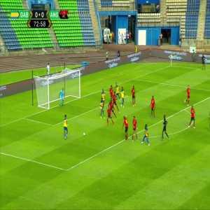 Aubameyang goal vs Angola (1-0)