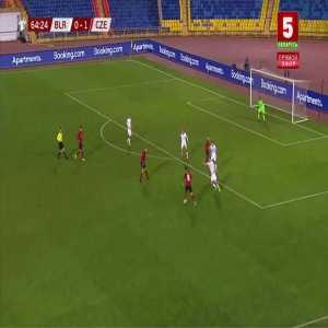 Belarus 0-2 Czech Republic - Adam Hlozek 65'