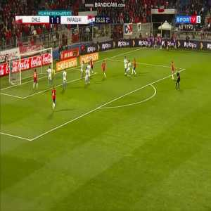 Chile [2] - 0 Paraguay   Mauricio Isla 72'