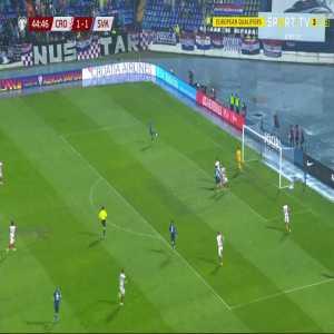 Croatia 1-[2] Slovakia - Lukas Haraslin 45'