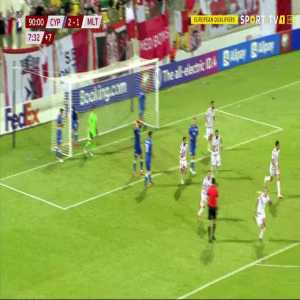 Cyprus 2-[2] Malta - Jurgen Degabriele 90'+8'