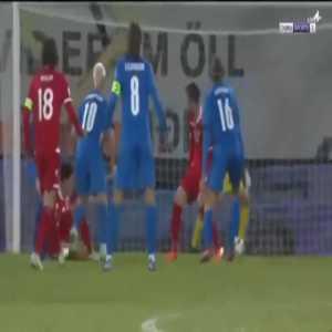 Iceland 3-0 Liechtenstein - Albert Gudmundsson penalty 79'