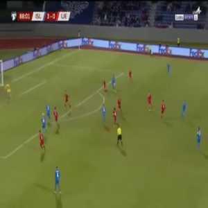 Iceland 4-0 Liechtenstein - Andri Gudjohnsen 89'