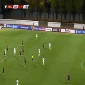 Latvia 1-[1] Turkey - Serdar Dursun 76'