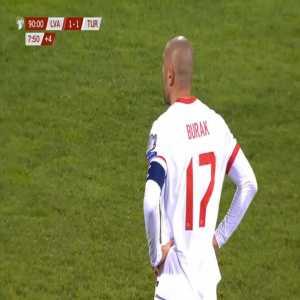 Latvia 1-[2] Turkey - Burak Yilmaz penalty 90'+9'