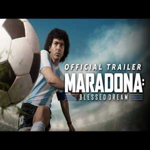 Maradona: Blessed Dream - Official Trailer | New Series 2021 | Amazon Prime Video